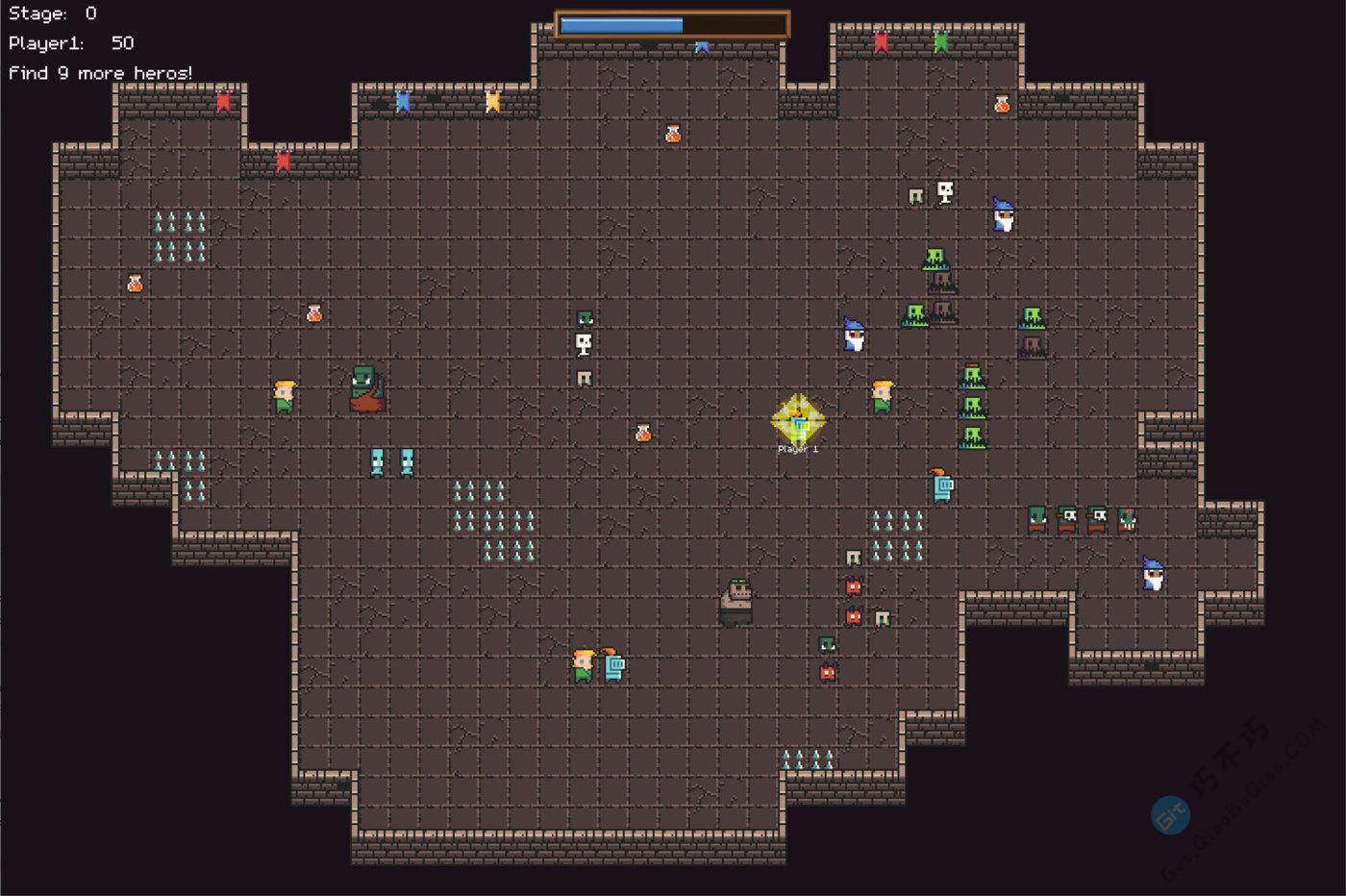 一款Windows上的贪食蛇游戏,风格独特,模式新颖,支持单机双人