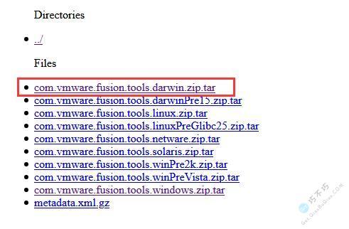 苹果虚拟机MacOS系统的Darwin.iso VMware Tools下载安装