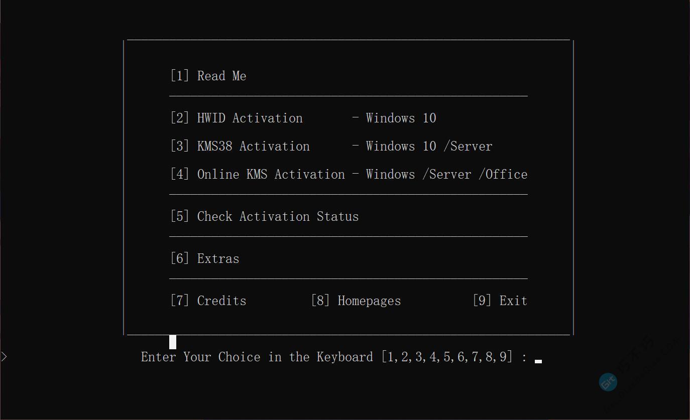 开放源代码,不报风险的Windows、office最新版在线KMS激活工具