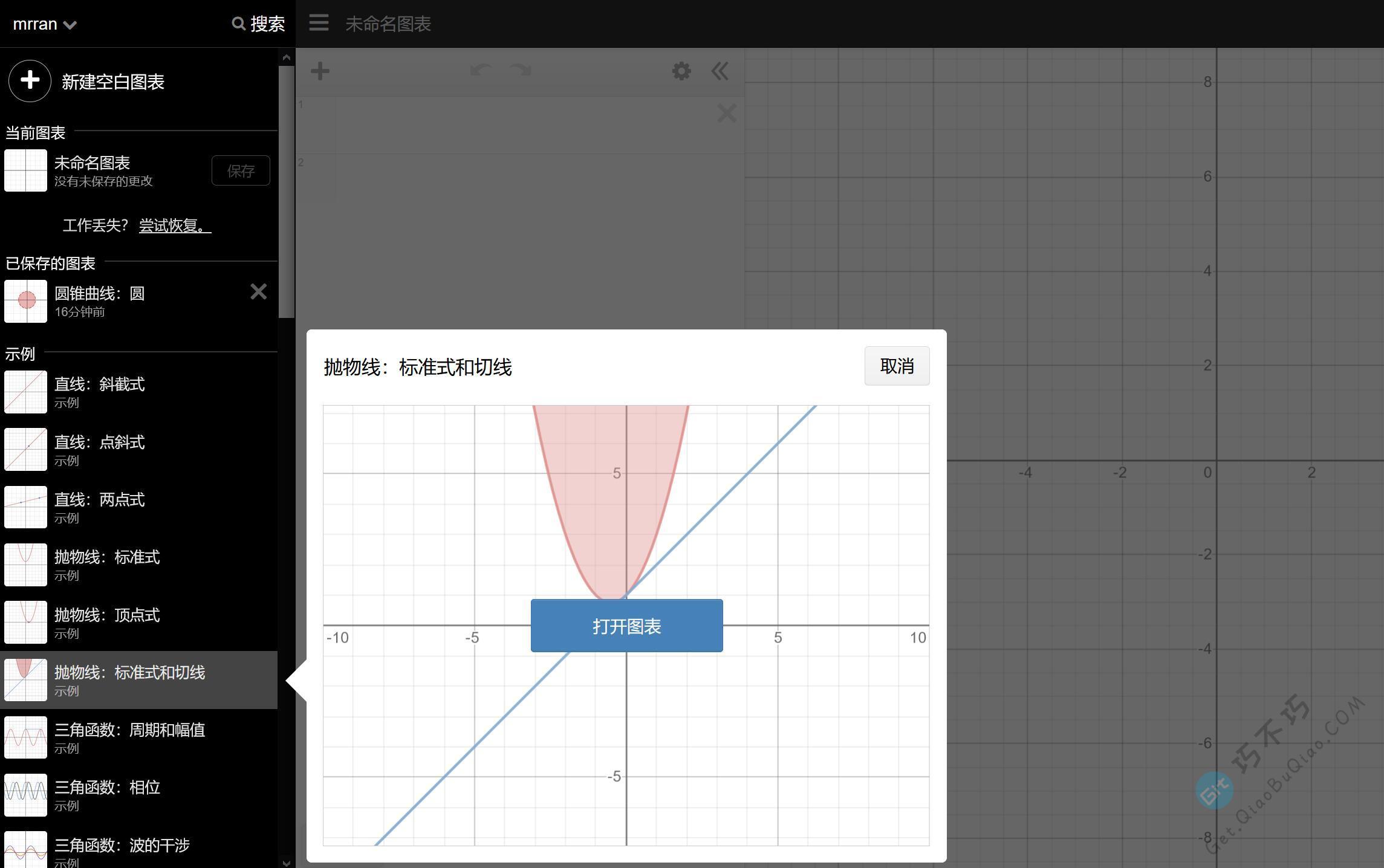 超级强大的数学公式在线图表绘制工具,并配有安卓与苹果手机app