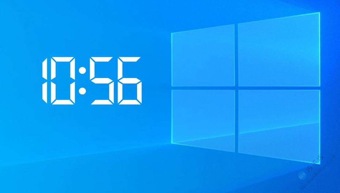 实用的电脑桌面水印时钟,可自定义位置,不影响鼠标点击操作,多种样式皮肤可选择