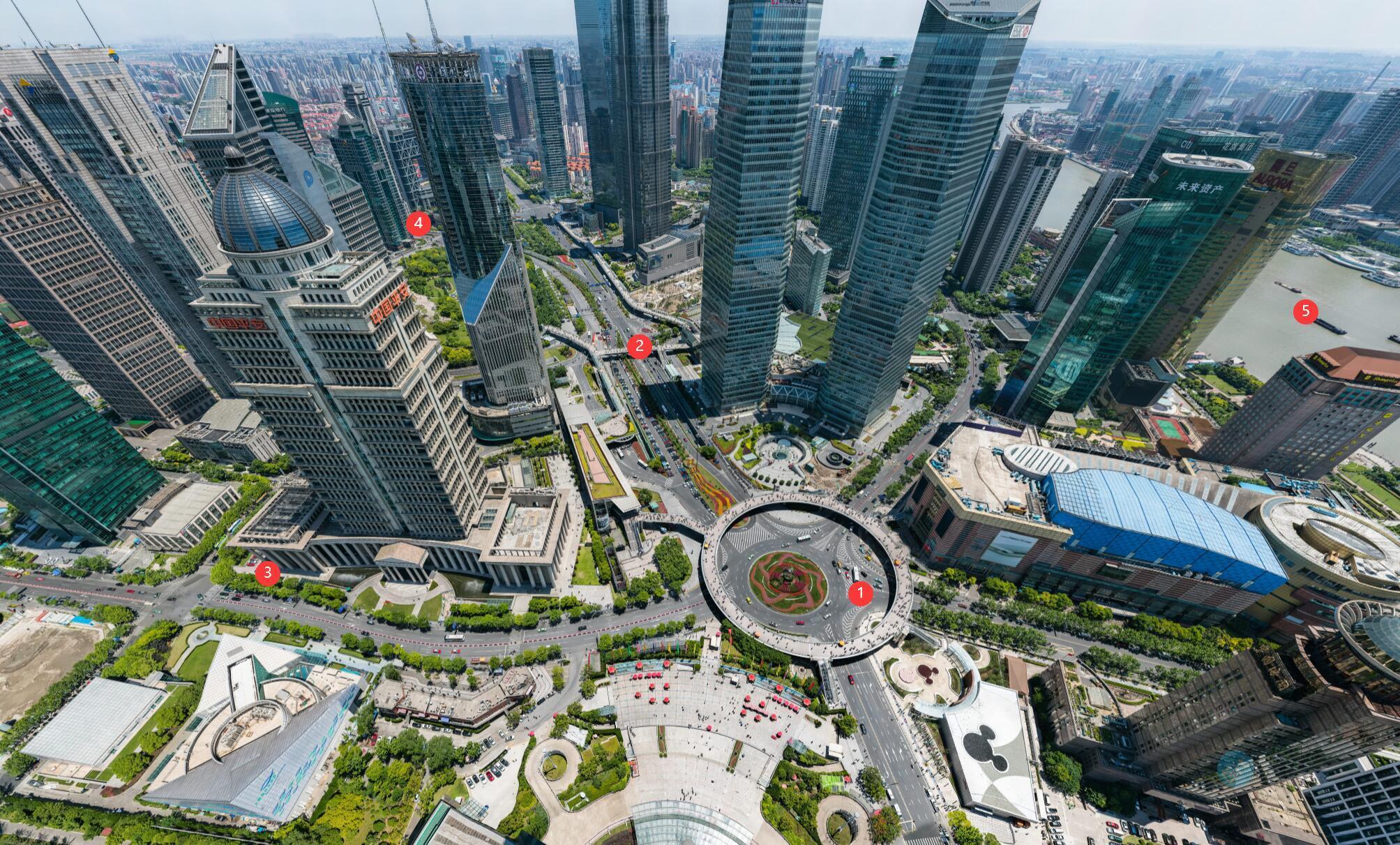 极致高清的中国与世界城市及景点360度全景照片