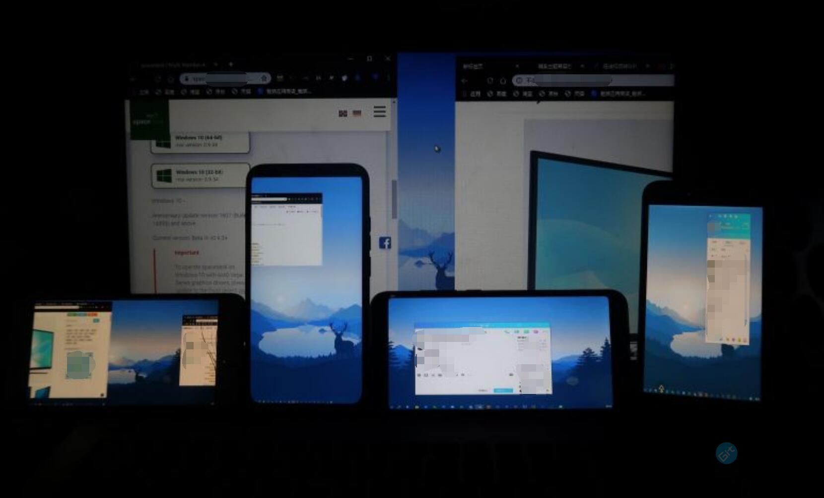 使用WIFI或网线将其他Windows、Android、IOS设备变成电脑的显示器作为第二显示屏