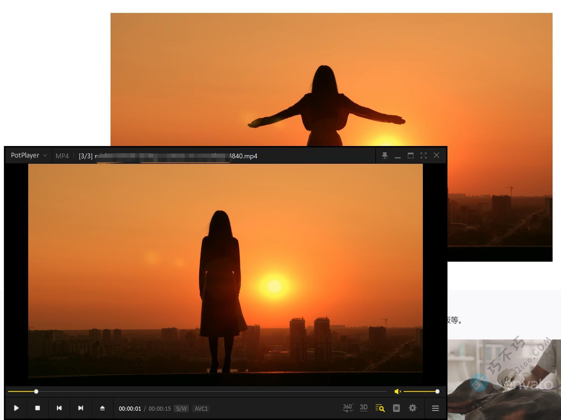非常多的超高清无水印MP4视频素材下载,包含风景、科技、人文、转场等